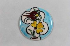 Çiçek Desenli İlbay Çini Seramik Magnet Tulips, Emo, Diy And Crafts, Magnets, Porcelain, Enamel, Accessories, Porcelain Ceramics, Vitreous Enamel