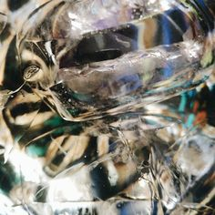 Ice cubes in glass #abstract #vsco #analog #guesswhat #krakow