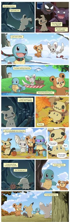 I love how the pokemon fan base makes mimikyu look so sad but in the game and anime he is creepy and evil Pokemon Comics, Pokemon Funny, Pokemon Memes, Pokemon Fan Art, Cool Pokemon, Pokemon Go, Pikachu, Pokemon Stuff, Fanart