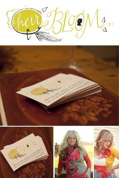 lindsay letters / heirbloom business card