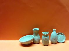 Vasi e altro in miniatura realizzati con l argilla