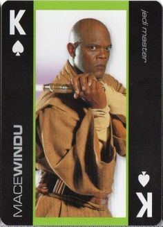 mace windu (samuel l. jackson) - #starwars - heroes king of hearts 2011 from $1.0