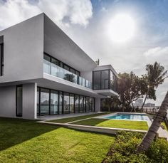 Private Residence In La Gorce / Touzet Studio | Miami Beach, Architecture  And House