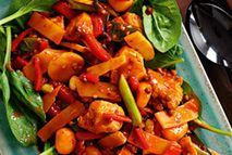 Quick? Check. Easy? Check. Lip-smackingly good? Check. This legendary dish hails from China's Szechuan (Sichuan) province and really packs a punch! Oh - and it's great for a 'fakeout' too!