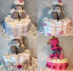 Hvordan lage bleiekake - oppskrift på bleiekake Baby Shower Diapers, Baby Shower Cakes, Fairy Tales For Kids, Kids Board, Educational Games, Babyshower, Your Favorite, Baby Kids, Children
