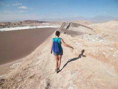 Trying really hard not to die here.. San Pedro de Atacama - Chile March '13