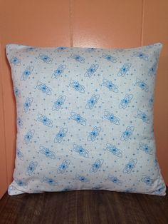Atomic Starburst Pillow. Mid Century Modern Decorating. Vintage Style Decorative Pillow Cover
