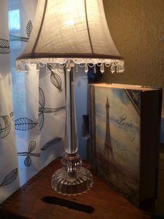 For extra lighting, add a lamp, reading light, or LED Christmas lights on the ceiling