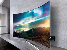 """Smart TV LED Curva 78"""" Samsung 4K Ultra HD - SUHD 78KS9000 Conversosr Digital 4 HDMI 3 USB com as melhores condições você encontra no Magazine Voceflavio. Confira!"""