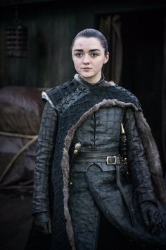"All the Photos From Game of Thrones Season 8 : Arya Stark in Game of Thrones Season Episode ""The Iron Throne"" Game Of Thrones Arya, Game Of Thrones Gifts, Game Of Thrones Series, Game Of Thrones Funny, Maisie Williams, Arya Stark, Medici Masters Of Florence, Game Of Thones, Got Memes"