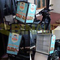Penjualan tas delivery box motor makanan di Surabaya: Jual Tas delivery makanan Surabaya - Malang