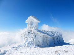 Impresionante foto de San Donato tras las nevadas (Vía Cederna-Garalaur)