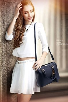PU Leather casual tote bag for women. Versatile bag can be used as messenger bag/crossbody bag. 6 colors to choose. Order your favorite colors and enjoy free worldwide shipping. Travel Messenger Bag, Crossbody Bag, Tote Bag, Pu Leather, Woman, Colors, Casual, Bags, Free