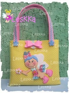 Foam Crafts, Diy And Crafts, Baby Shawer, Foam Sheets, Circus Party, Fabric Bags, Kids Bags, Goodie Bags, Handmade Toys