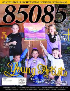 The Dec. '15 cover of 85085 Magazine.  Produced by The Media Barr, Inc.  www.85085magazine.com www.themediabarr.com
