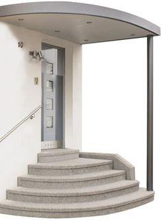 Haustür-Vordächer, Carports, Terrassen-Überdachungen und Balkonverkleidungen - Sortiment