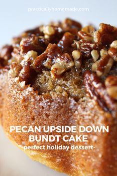 Pecan Pie Bundt Cake Recipe, Pecan Pie Cupcakes, Pecan Pie Cobbler, Pecan Pie Muffins, Pecan Pie Filling, Pecan Pie Cheesecake, Pecan Cake, Pecan Desserts, Easy Desserts