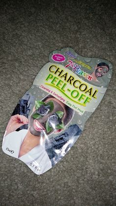 7th Heaven Charcoal Peel Off Mask. I always love a good peel off mask especially for when my skin that is riddled with blackheads.