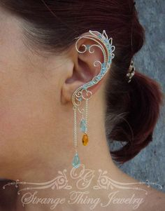 Ear cuffs Obsession by StrangeThingJewelry on Etsy, $28.00