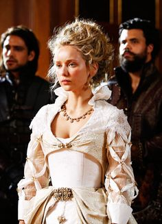 Alexandra Dowling in 'The Musketeers' (2014). x