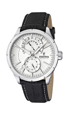 Festina Men's Watch with Leather Strap