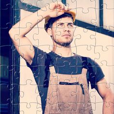 Watch the new #puzzle for today: Worker with helmet. Get it for #free on #Appstore & #GooglePlay and #enjoy one of most #relaxing #puzzle game for #iphone,#ipad and #Android. #gamedev #jigsaw #rompecabezas #developer #jigsawpuzzle #jigsaw #puzzle #puzzles #jigsaws