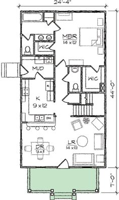 arts crafts narrow lot house plan 10032tt 1st floor master suite cad