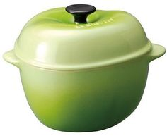 Le Creuset Stoneware 12-Ounce Petite Apple Casserole, Kiwi => Special product just for you. : bakeware