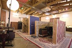 Sonic Ranch's Abobe tracking room