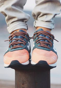 more photos e6484 92200 Ronnie Fieg x Asics Gel Lyte III  Salmon Toe  (by lukvs) Reebok