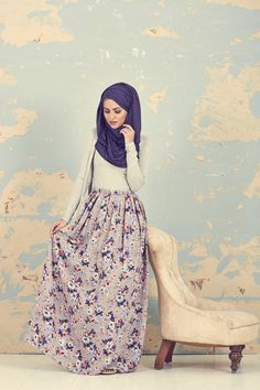 Gaya Vintage Muslimah