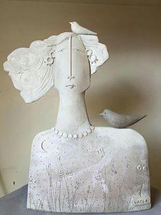 Ceramic Clay, Ceramic Painting, Ceramic Pottery, Pottery Sculpture, Sculpture Clay, Ceramic Workshop, Sculptures Céramiques, Hand Built Pottery, Ceramic Figures