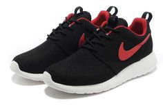 UK Trainers Roshe One|Nike Roshe Run Yeezy Mens Black Red