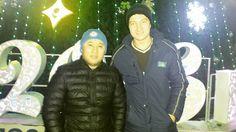 С братишкой Володя @abzhaparov_maulesh by bekzat_tdk