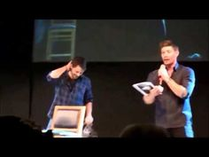 Jensen Ackles and Misha Collins from Supernatural Dancing - YouTube