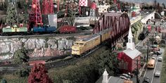 Carl Giambrone's American Flyer layout - Toy Train Layouts - Classic Toy Trains - Trains.com online community