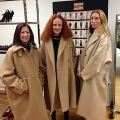 Phyllis Posnick, Grace Coddington & Tonne Goodman - Vogue