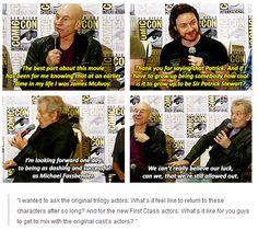 X-Men: Days of Future Past panel at Comic Con