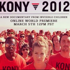 One video. 30 minutes long. Spread over a social network's population of approx 750,000. Now it's your turn to support! 2012 is the year the US and Ugandan army shall find Joseph Kony and his army 'LRA'. Over 30,000 children have been abducted from their homes and families and made to kill innocent people over the past 26 years. Along with your support, we can fight to find him and stop this terror. He has no purpose. He just seeks power. This has to stop! Visit www.kony2012 for more info. Pl...