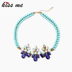 New Designer Fashion jewelry Bohemia Chic Beaded Chain Drop Pendant Necklace For Christmas Gifts Who like it ?Visit our store ---> http://www.servjewelry.com/product/kiss-me-new-designer-kiss-me-fashion-jewelry-bohemia-chic-beaded-chain-drop-pendant-necklace-for-christmas-gifts/ #shop #beauty #Woman's fashion #Products #homemade