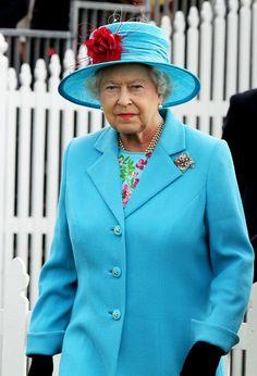 Queen Elizabeth II - Queen Elizabeth in Windsor Great Park