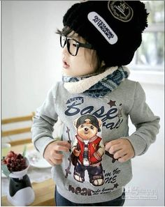 Wholesale 2011 new Korean Kids' thick coat fall and winter clothes for boys and girls 5 Pieces, Free shipping, $12.61/Piece | DHgate Mobile