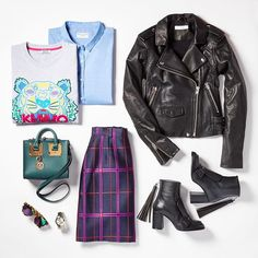 Ladylike tailoring meets downtown cool #flatlay #flatlays #flatlayapp www.flat-lay.com