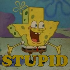(Spongebob) Texas is Stupid by eightkingdoms