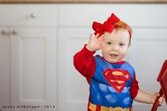 365  Project  Lifestyle photography, child lifestyle, 15 months old, superman baby, mr clean