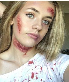 Zombie makeup gone gorgeous