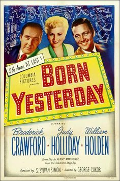 BORN YESTERDAY // usa // George Cukor 1950