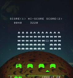 Video Games Taito released Space Invaders in Japan. Midway gave Space Invaders a wide release in North America. The worldwide success of Space. Atari Video Games, Video Game Music, History Of Video Games, Retro Arcade, Classic Video Games, Cartoon Tv Shows, Space Invaders, Metroid, Super Nintendo