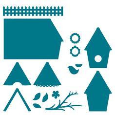 Album Builder-Birdhouse Steel-Rule Die | AccuCut Craft