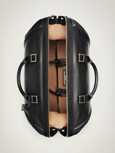 Leather Bag, weekend travel